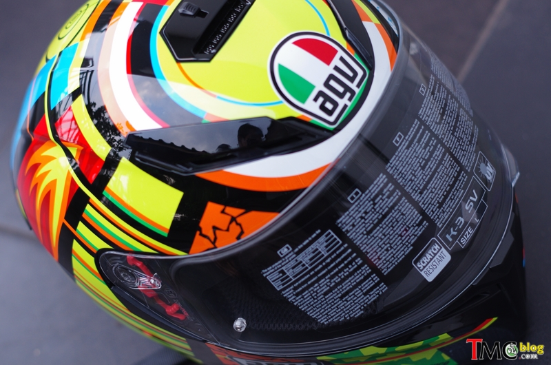 Helm Agv K3 Sv Element Valentino Rossi Replika Vlog Tmcvlog