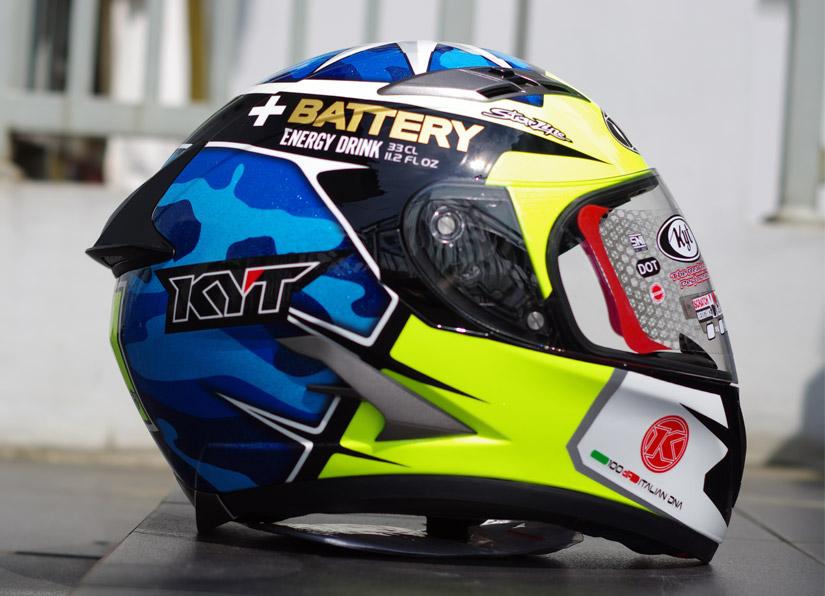 Review Helm KYT Vendetta2 Aleix Espargaro MotoGP Replica